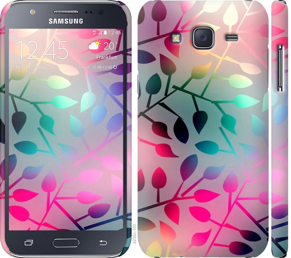Чехол на Samsung Galaxy J5 (2015) J500H Листья