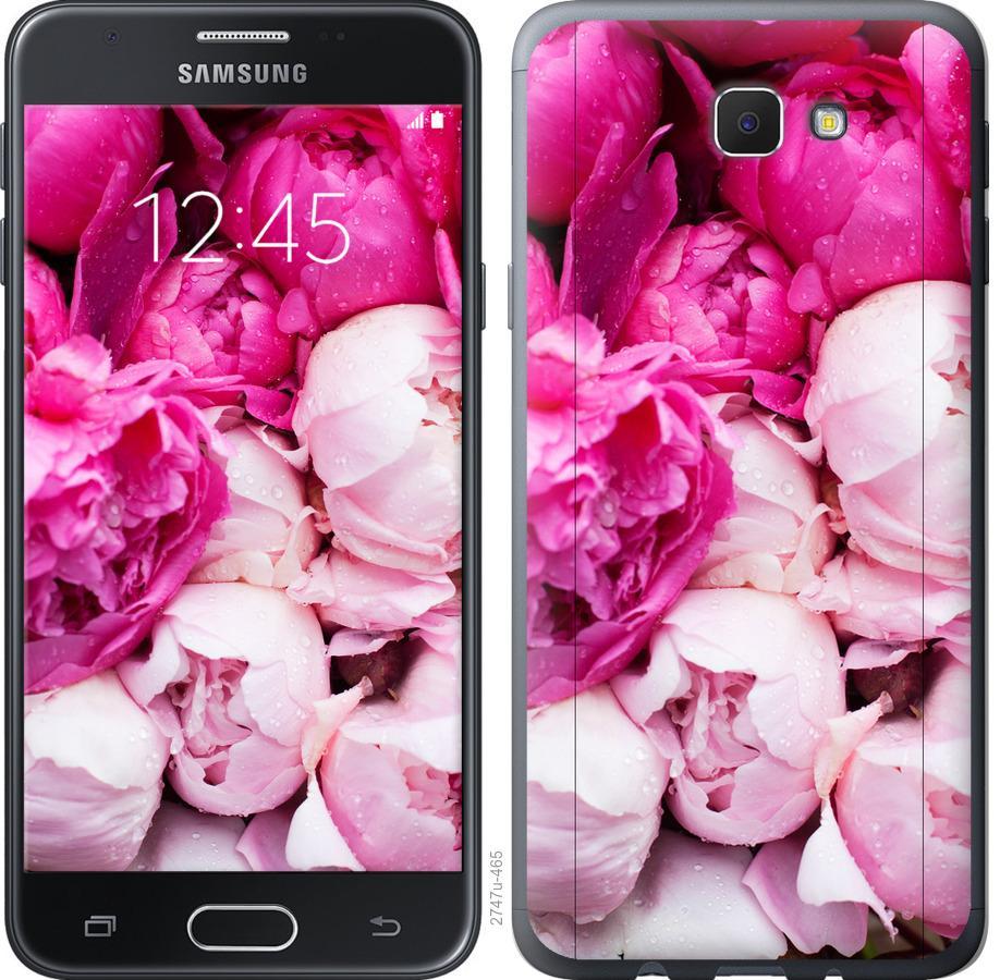 Чехол на Samsung Galaxy J5 Prime Розовые пионы