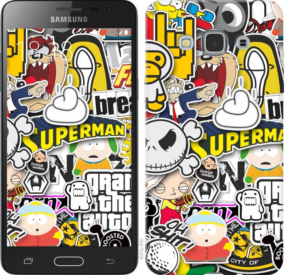 Чехол на Samsung Galaxy J3 Pro Popular logos