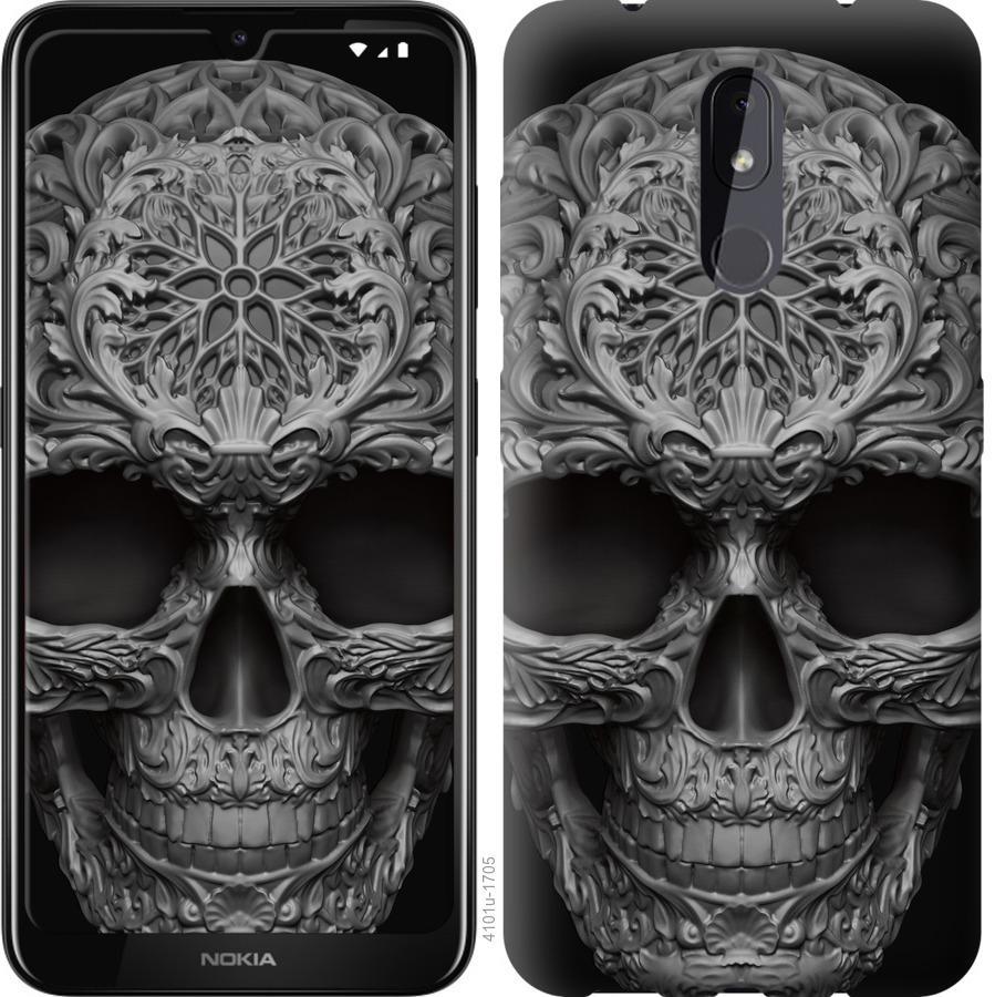 Чехол на Nokia 3.2 skull-ornament