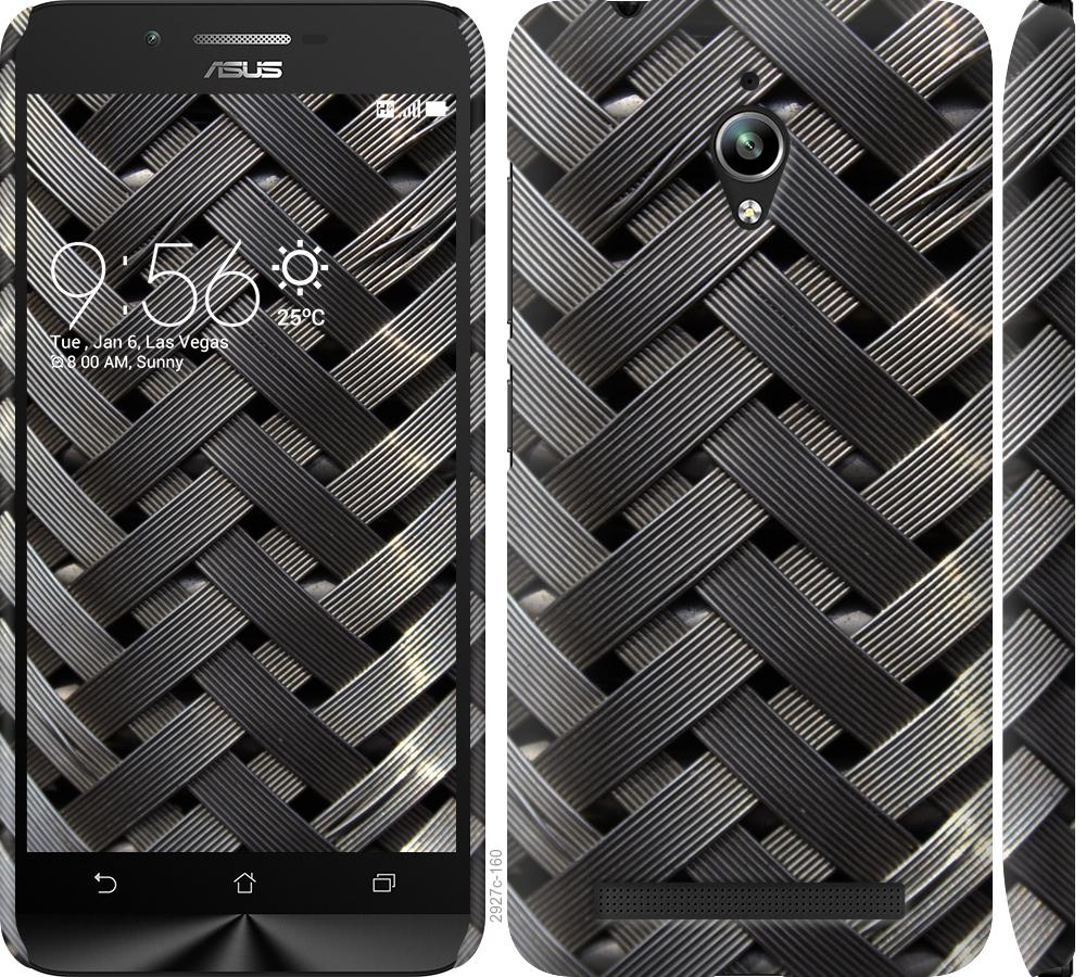 Чехол на Asus Zenfone Go ZC500TG Металлические фоны