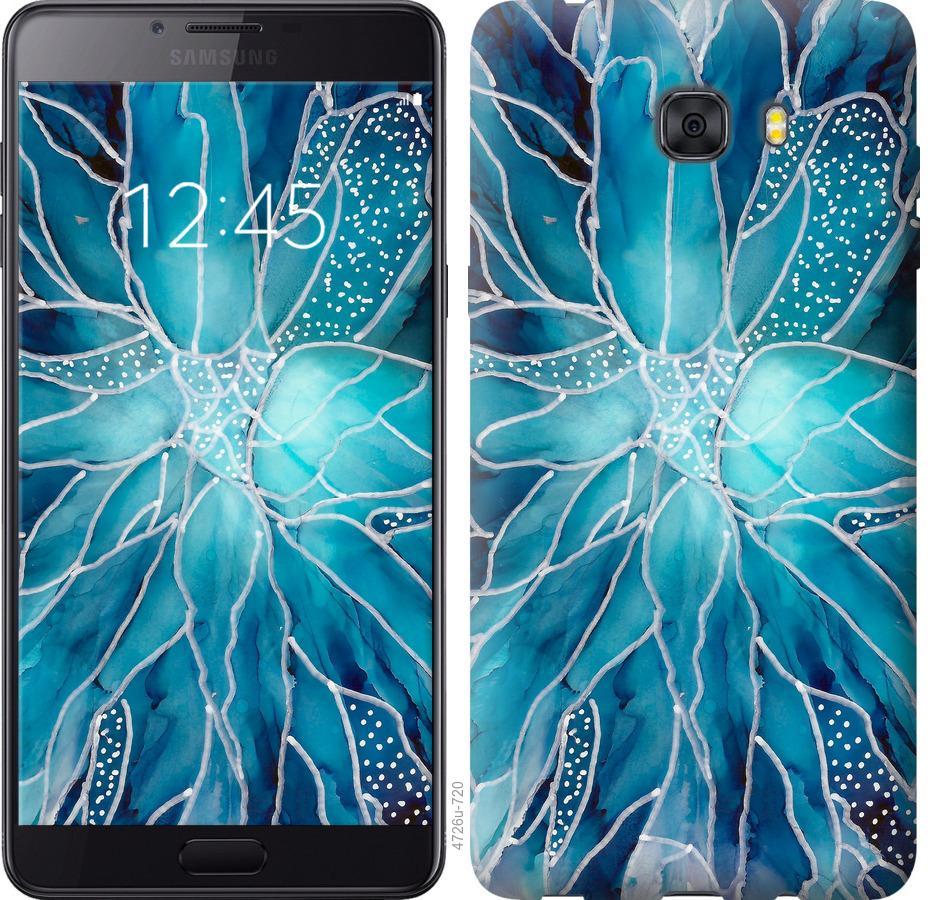 Чехол на Samsung Galaxy C9 Pro чернило