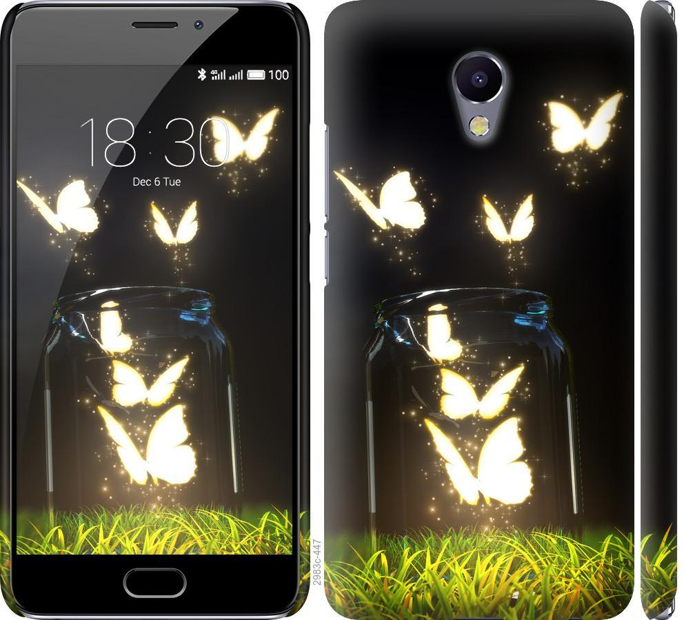 Чехол на Meizu M5 Note Бабочки