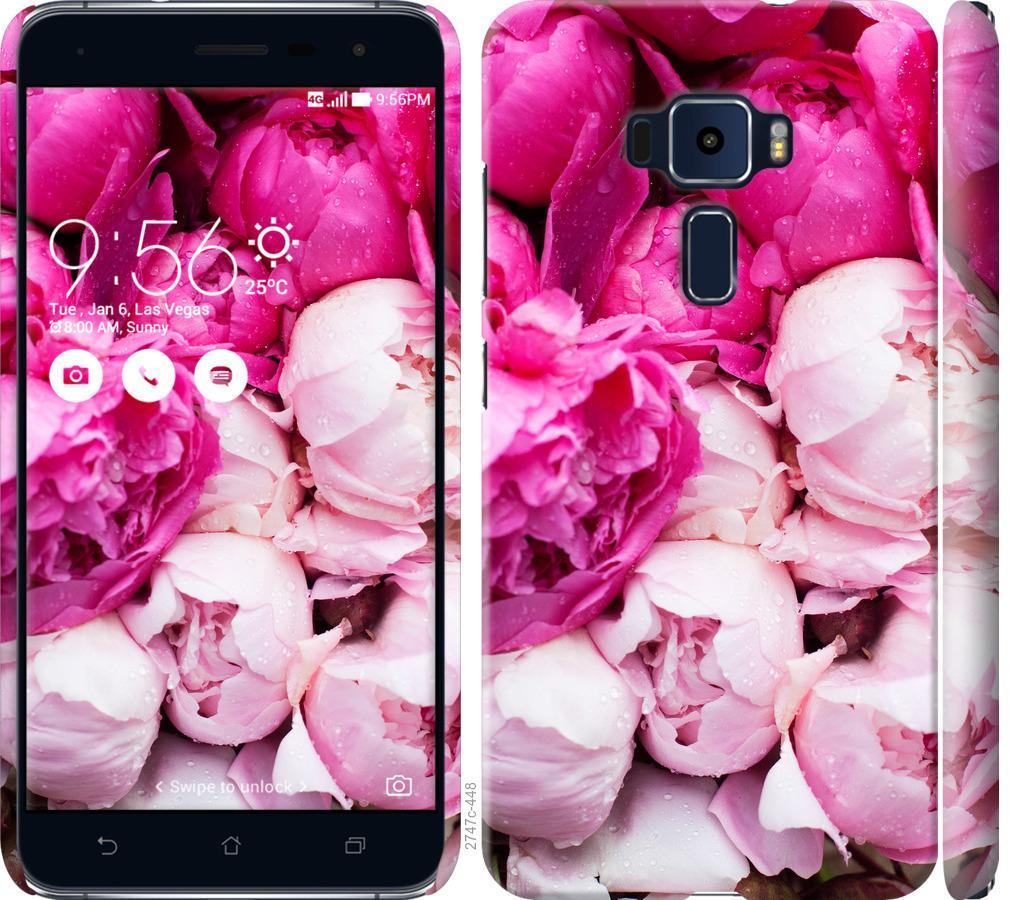 Чехол на Asus Zenfone 3 ZE552KL Розовые пионы