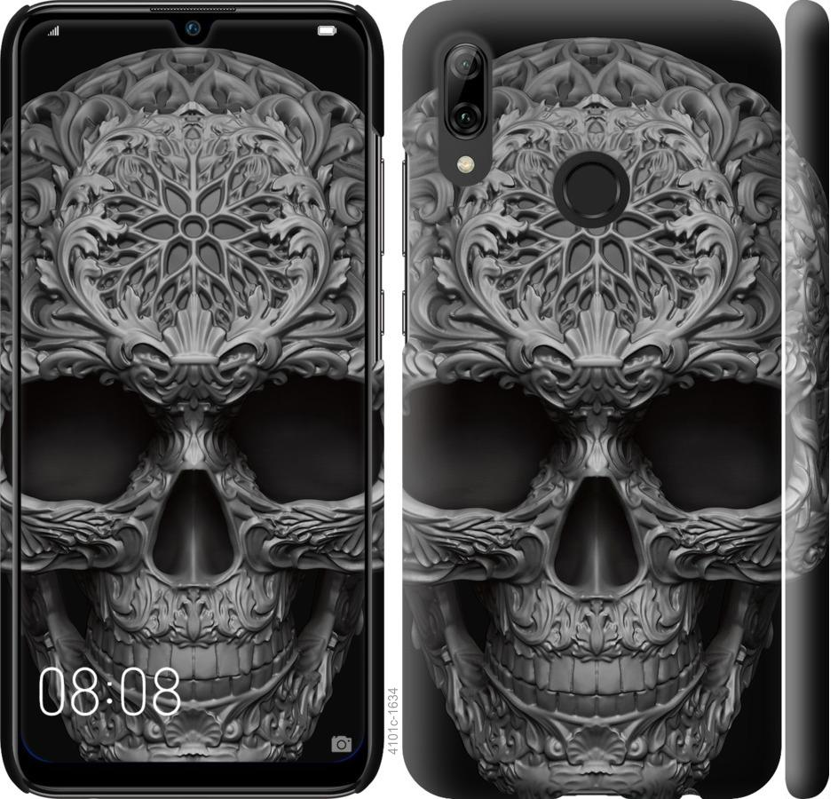 Чехол на Huawei P Smart 2019 skull-ornament