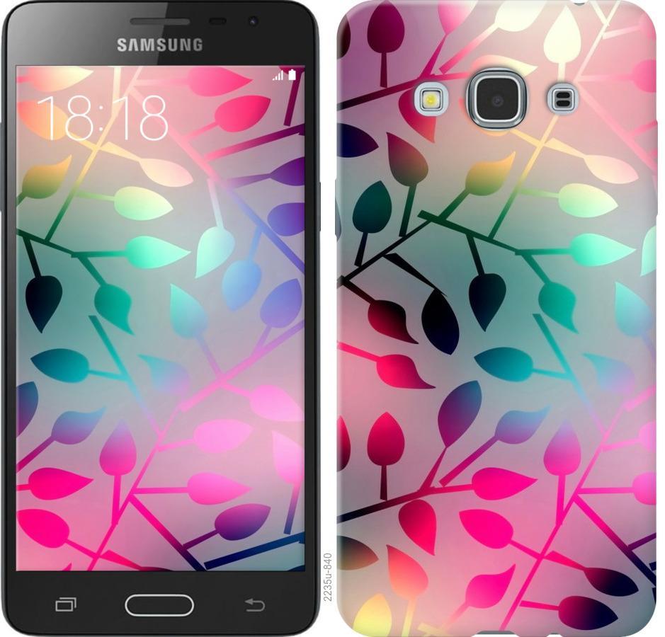 Чехол на Samsung Galaxy J3 Pro Листья