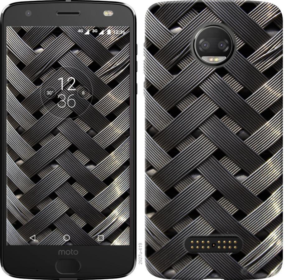 Чехол на Motorola Moto G5 PLUS Металлические фоны