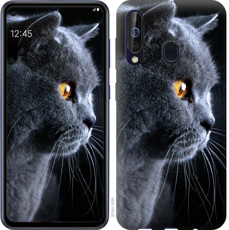 Чехол на Samsung Galaxy A60 2019 A606F Красивый кот