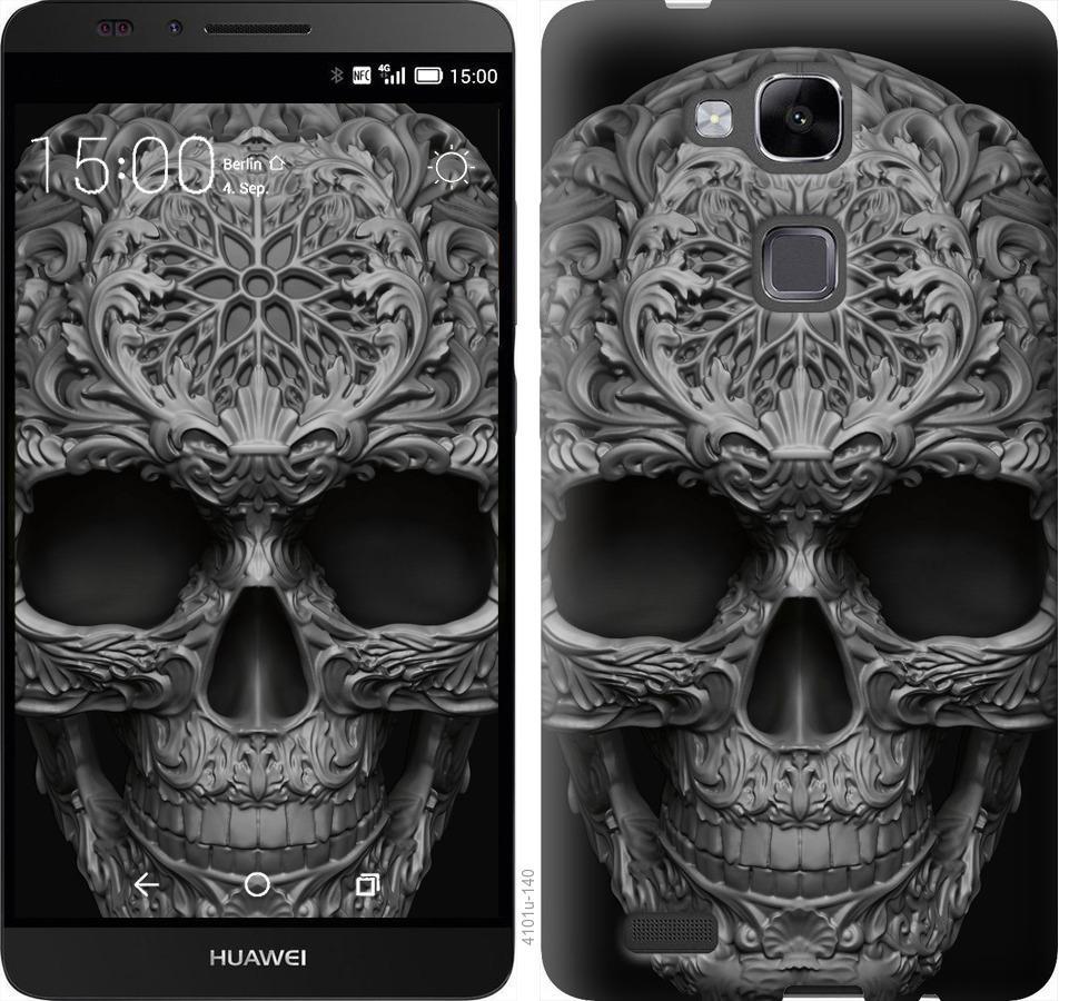 Чехол на Huawei Ascend Mate 7 skull-ornament