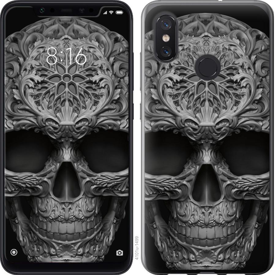 Чехол на Xiaomi Mi8 skull-ornament