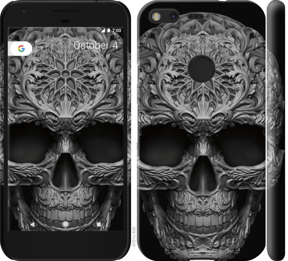 Чехол на Google Pixel skull-ornament