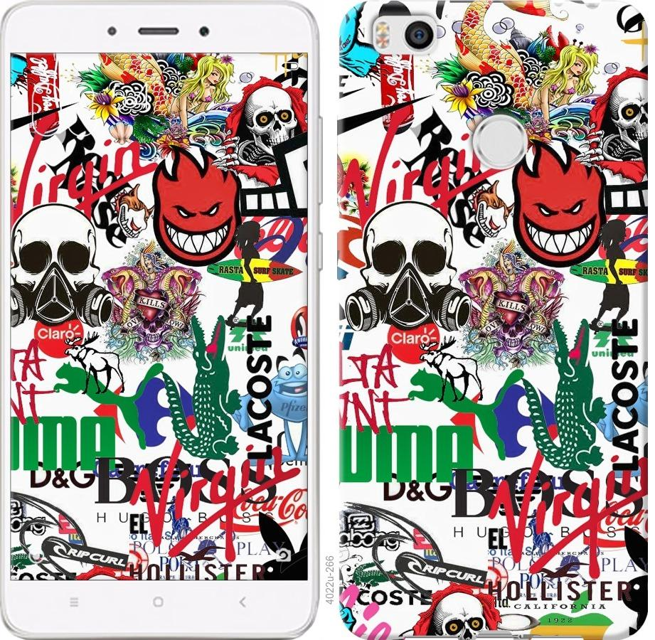 Чехол на Xiaomi Mi4s Many different logos
