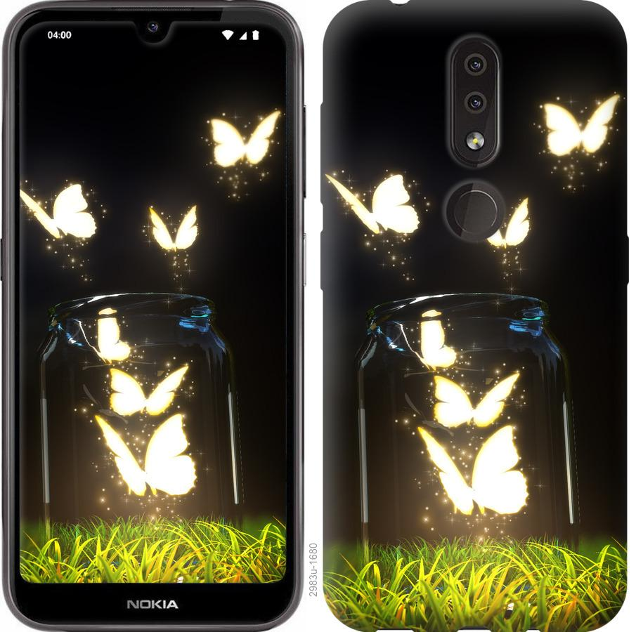 Чехол на Nokia 4.2 Бабочки