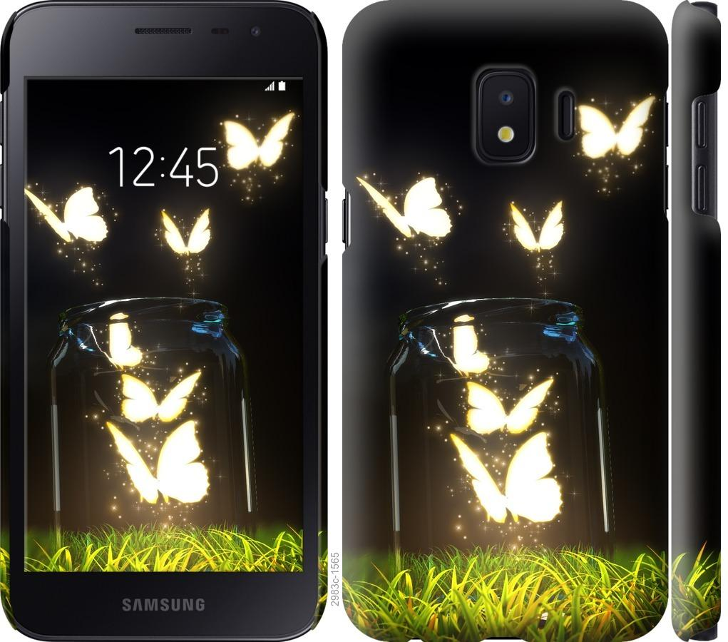 Чехол на Samsung Galaxy J2 Core Бабочки
