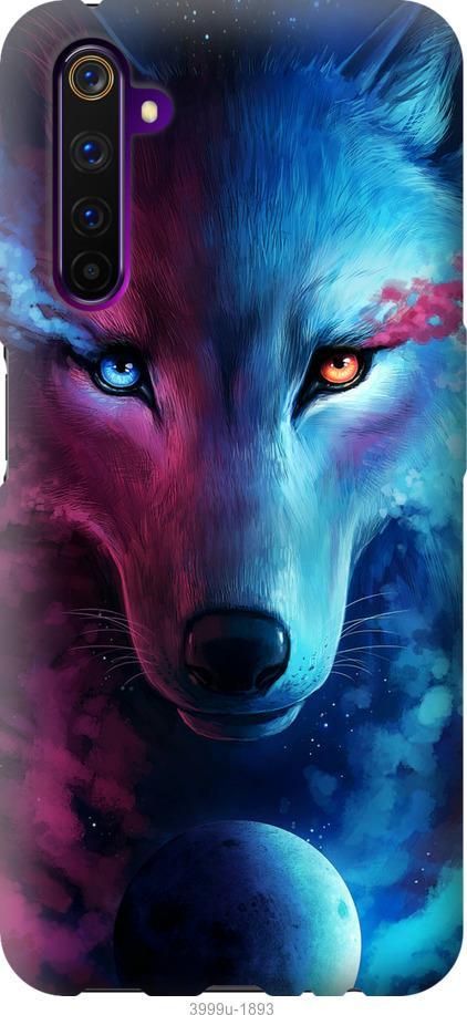 Чехол на OnePlus Nord Арт-волк