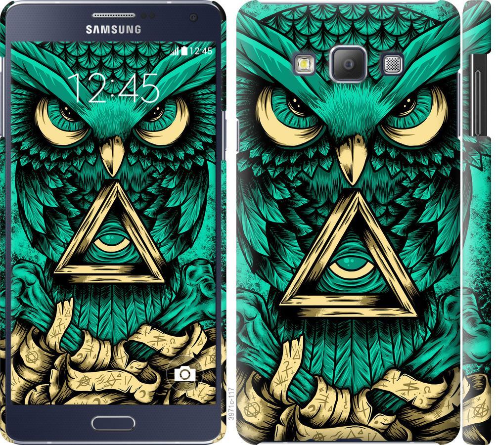 Чехол на Samsung Galaxy A7 A700H Сова Арт-тату