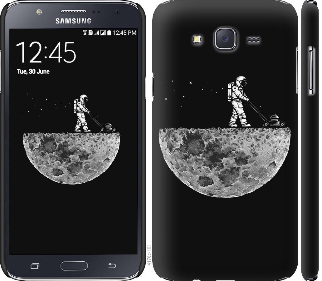 Чехол на Samsung Galaxy J7 J700H Moon in dark