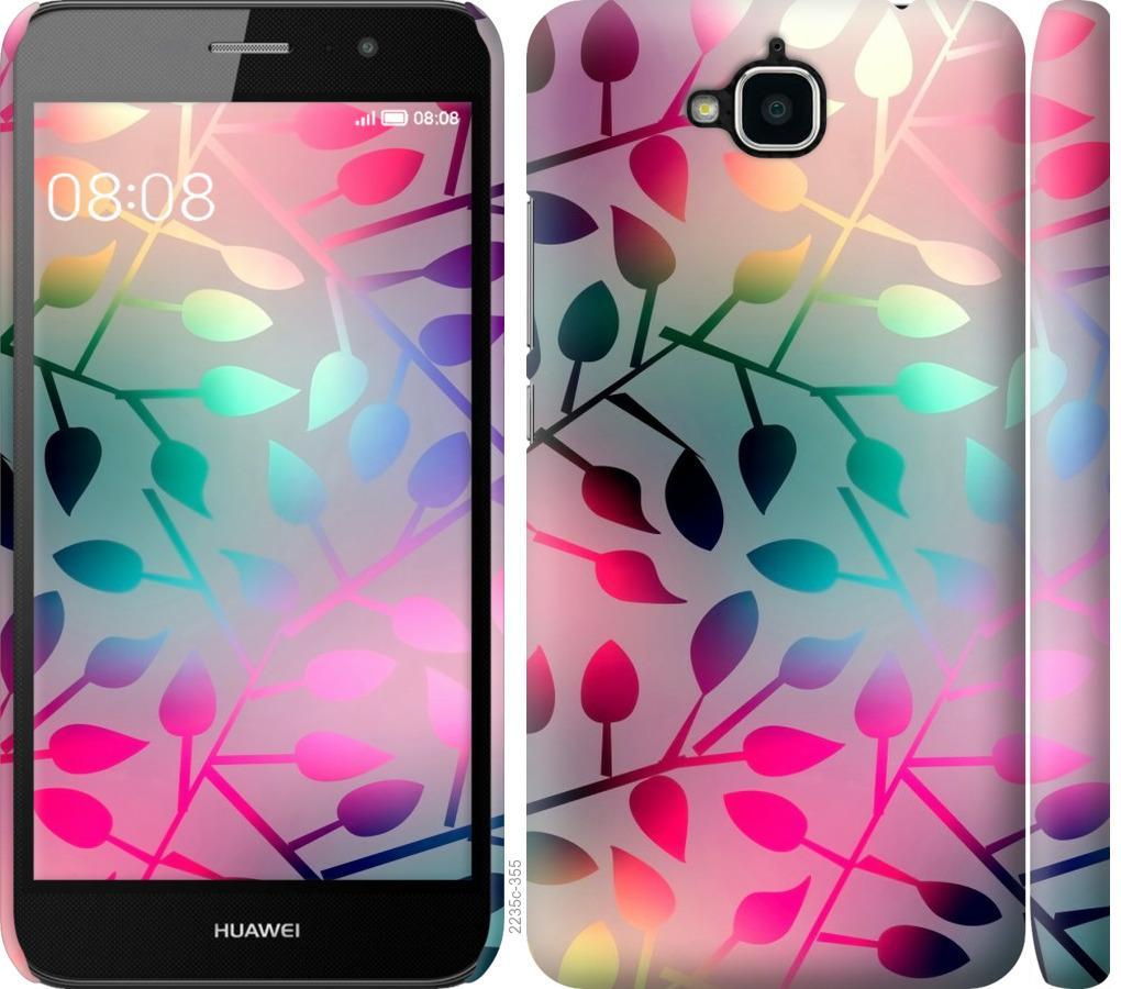 Чохол на Huawei Y6 Pro  Листя