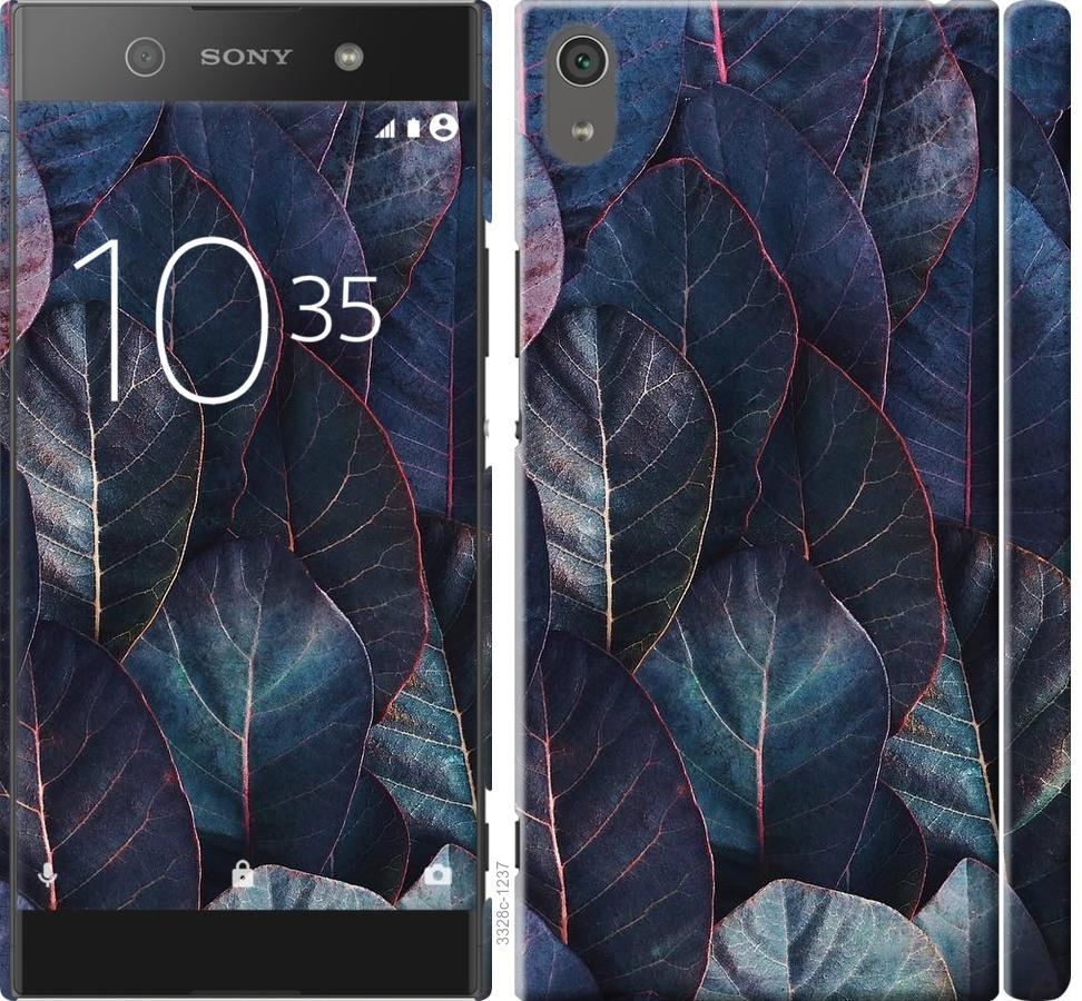 Чехол на Sony Xperia XA1 Ultra G3212 Листья v3