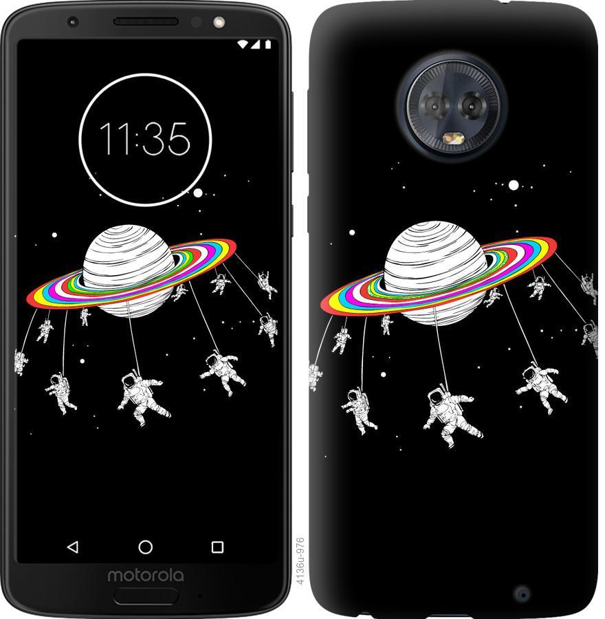 Чехол на Motorola Moto G6 Plus Лунная карусель