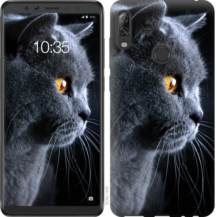 Чехол на Asus ZenFone Max Pro M1 ZB602KL Красивый кот