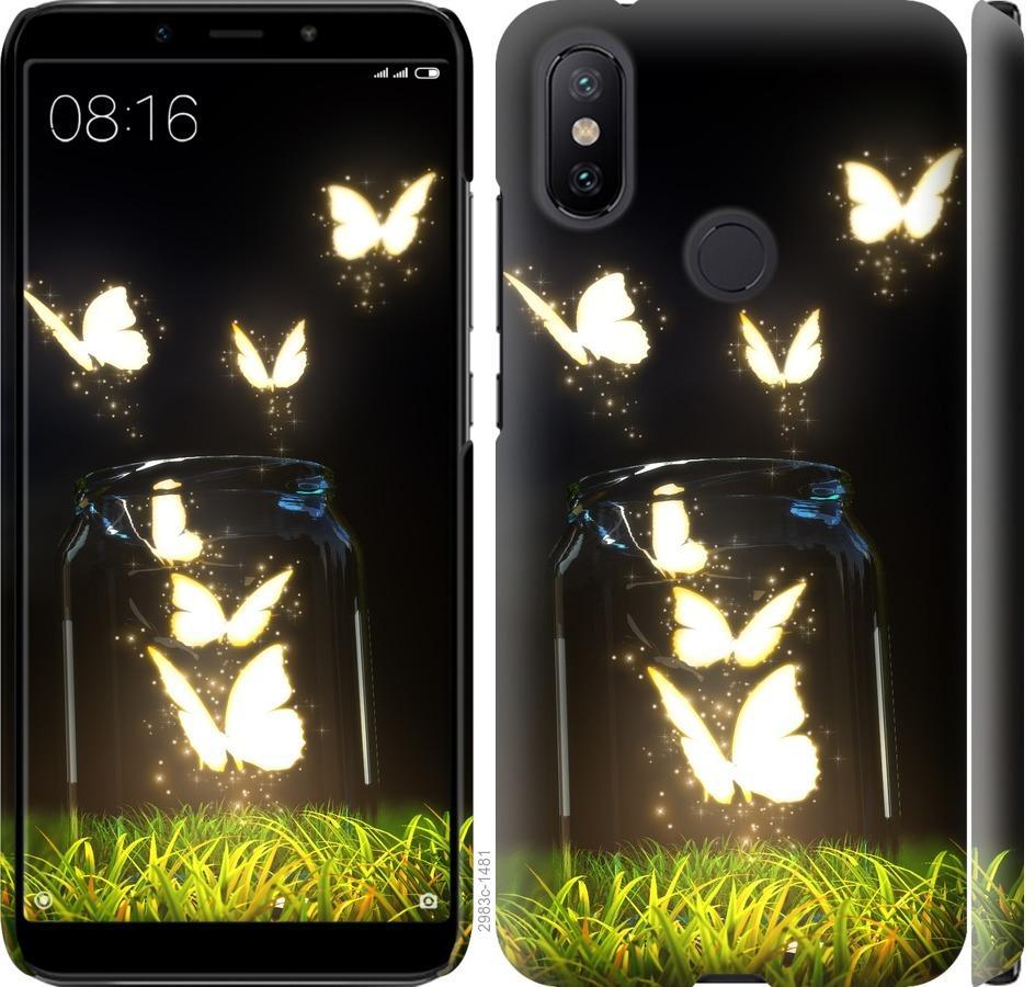 Чехол на Xiaomi Mi A2 Бабочки
