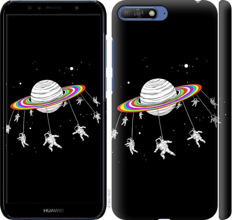 Чохол на Huawei Y6 2018 Місячна карусель