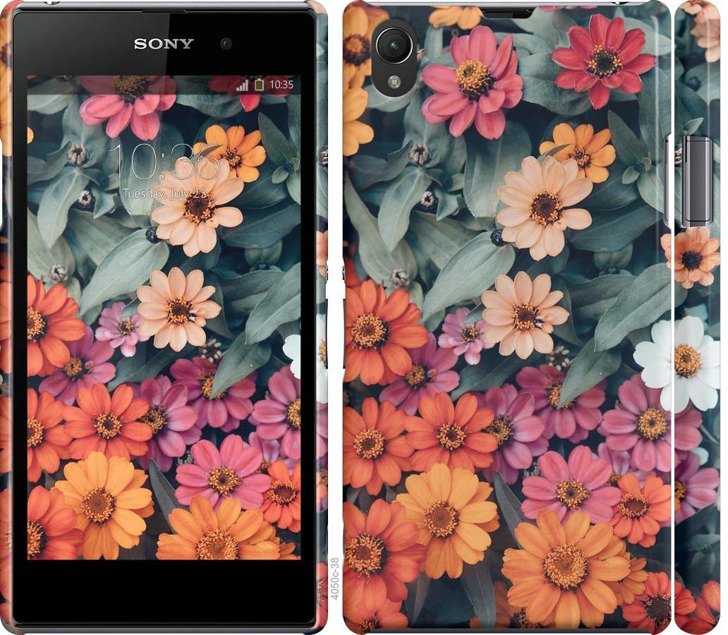 Чехол на Sony Xperia Z1 C6902 Beauty flowers