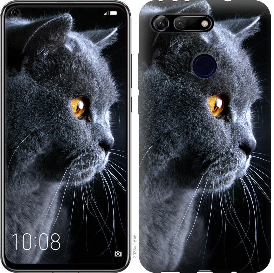 Чехол на Huawei Honor View 20 Красивый кот