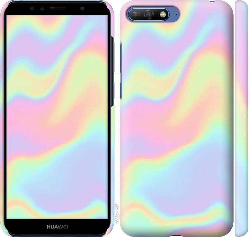 Чехол на Huawei Y6 2018 пастель