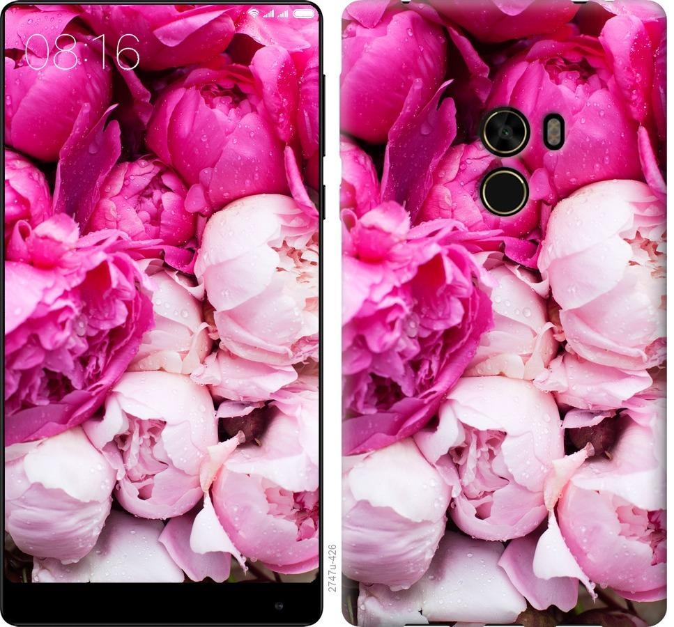 Чехол на Xiaomi Mi MiX Розовые пионы