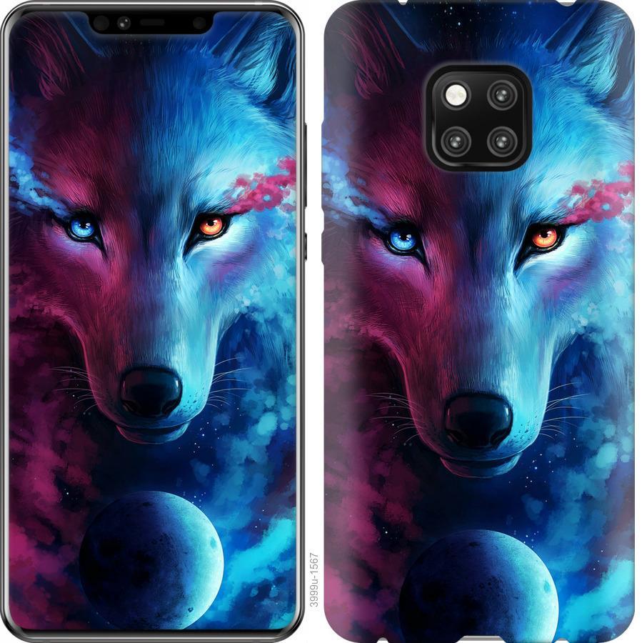 Чехол на Vivo V17 Арт-волк