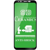 Защитная пленка Ceramics 9D для Samsung A750 Galaxy A7 (2018)