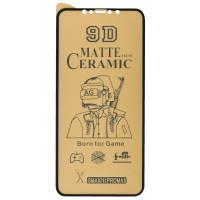 "Защитная пленка Ceramics Matte 9D для Apple iPhone 11 Pro Max (6.5"") / XS Max"