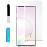 Защитное 3D стекло Nano Optics с УФ лампой для Samsung Galaxy Note 20 Ultra