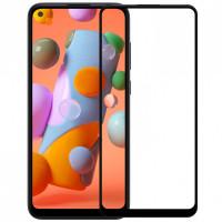 Захисне скло XD+ (full glue) (тех.пак) для Samsung Galaxy A11