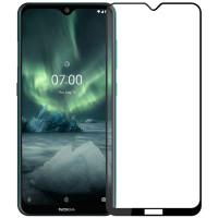 Защитное стекло 2.5D CP+ (full glue) для Nokia 6.2 / 7.2