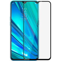 Защитное стекло 2.5D CP+ (full glue) для Realme 5 Pro