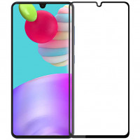 Защитное стекло 2.5D CP+ (full glue) для Samsung Galaxy A41