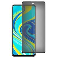 Защитное стекло Privacy 5D (full glue) для Xiaomi Redmi Note 9s