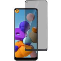 Защитное стекло Privacy 5D (full glue) (тех.пак) для Samsung Galaxy A21s