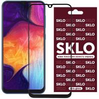 Защитное стекло SKLO 3D (full glue) для Samsung Galaxy A20 / A30 / A30s / A50 / A50s / M30 /M30s/M31