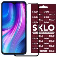 Защитное стекло SKLO 3D (full glue) для Xiaomi Redmi 9A / 9C