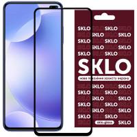 Защитное стекло SKLO 3D (full glue) для Xiaomi Poco X2
