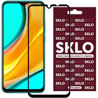 Защитное стекло SKLO 3D (full glue) для Xiaomi Redmi 9 / Poco M3 / Note 9 4G / Redmi 9T