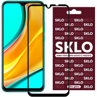 Защитное стекло SKLO 3D (full glue) для Xiaomi Redmi 9
