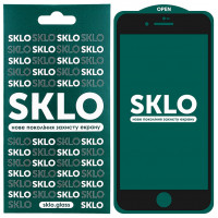 Захисне скло SKLO 5D (full glue) для Apple iPhone 7 (4.7'')
