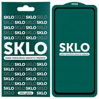 Защитное стекло SKLO 5D (full glue) для Samsung Galaxy A11 / M11
