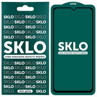 Защитное стекло SKLO 5D (full glue) для Samsung Galaxy A31