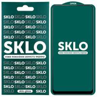 Защитное стекло SKLO 5D (full glue) для Xiaomi Redmi 9 / Poco M3 / Redmi 9T